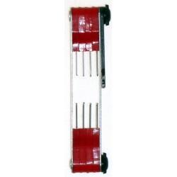 Jeu de jauges spéciales pour électrodes bougie