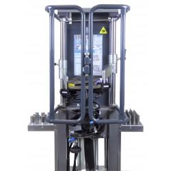 Compresseur de ressorts universel pneumatique sécurisé