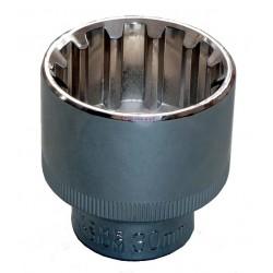 Douille 1/2 - 12 pans 30 mm