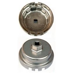 Cloche filtre spéciale 64 mm 14 pans