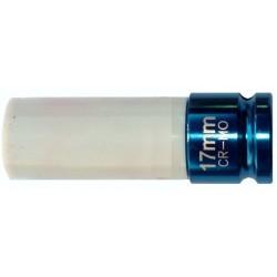 Douille chocs 1/2-17 mm protégée