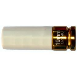 Douille chocs 1/2-19 mm protégée