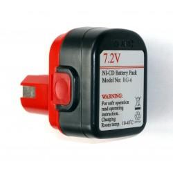 Batterie 7,2 V