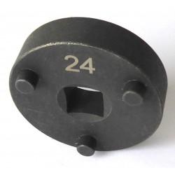 Adaptateur piston de frein N°24 - 3 ergots Renault, VAG, Ivéco