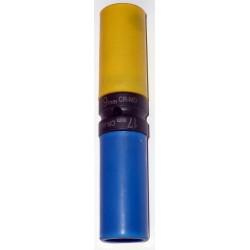 Douille chocs réversible longue protégée 17+19 mm