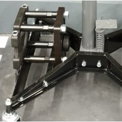Platine support extracteur moyeu pour kit hydraulique