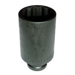 """Douille à chocs longue 1/2"""" 12 Pans H 19 mm"""