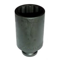 """Douille à chocs longue 1/2"""" 12 Pans H 21 mm"""