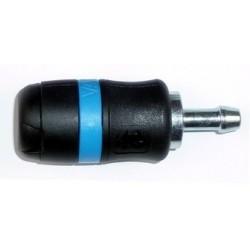 Coupleur rapide 6 mm cannelé 8 mm