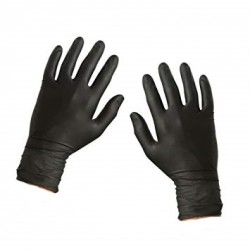 Lot de 100 gants de protection jetables