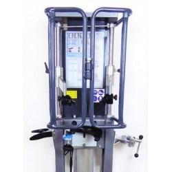 Compresseur de ressorts pneumatique sécurisé